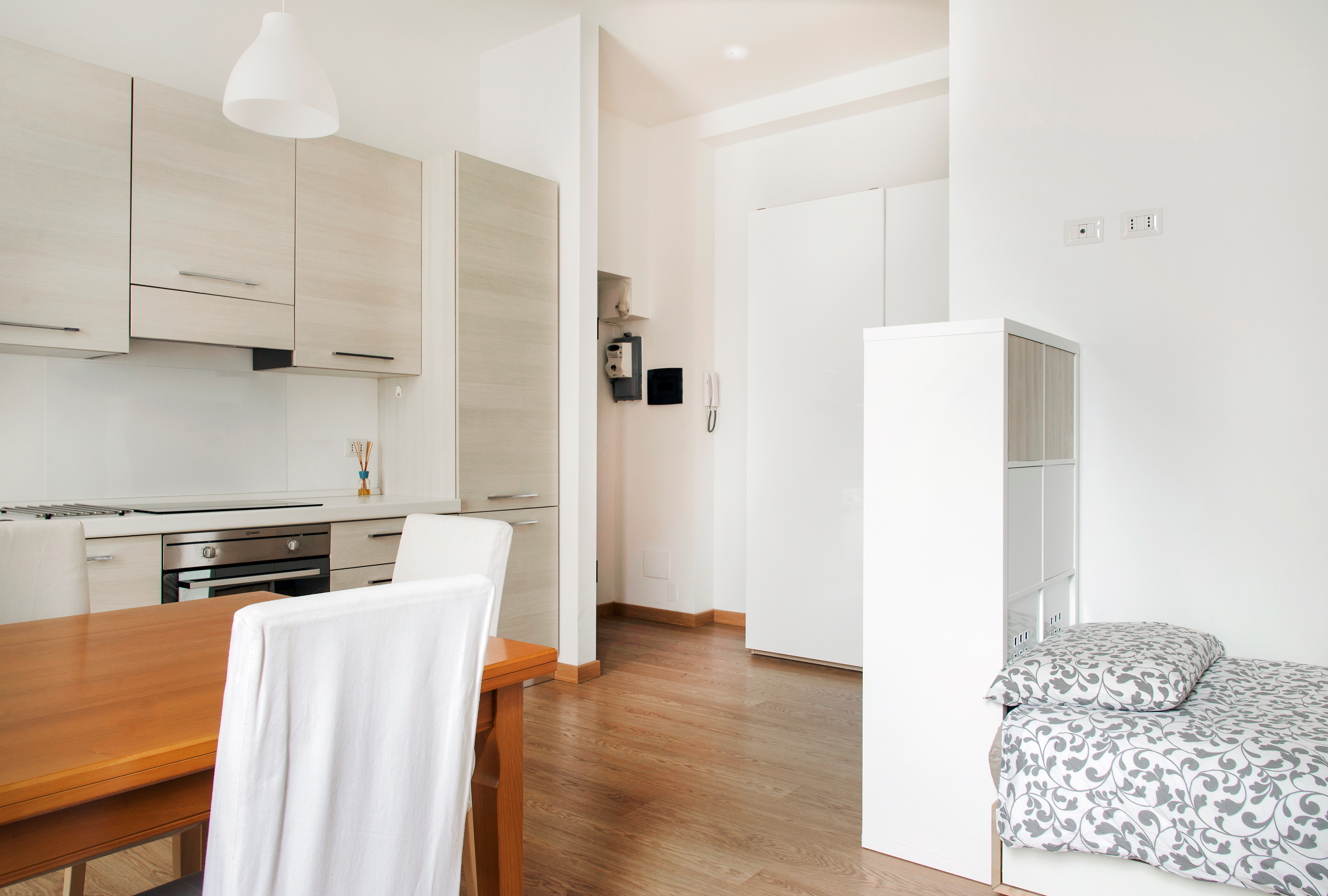 Student Apartment for rent in Viale Papiniano, 43, 3° floor, in Milano, Italy